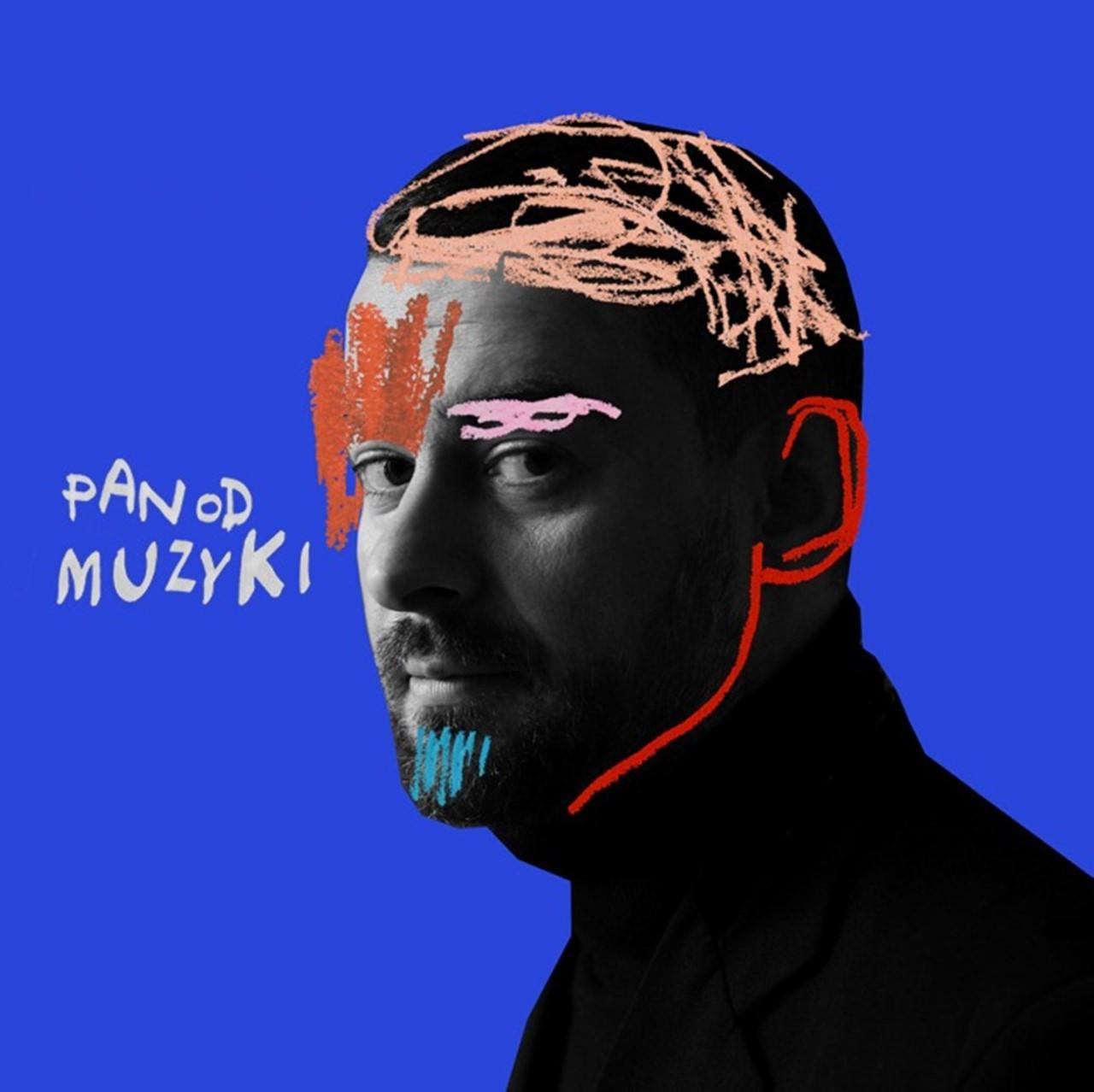 """Okładka debiutanckiego albumu Bartka Królika pt. """"Pan od muzyki"""""""